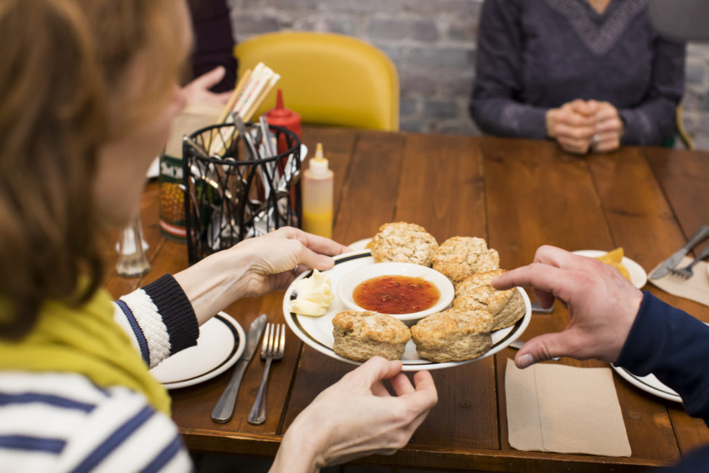 Food tours with biscuits pepper jam