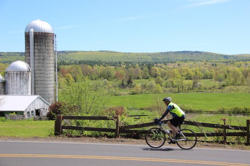 bike tour local farms local food