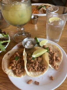 NM pork carnitas tacos